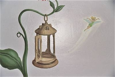 Painting - Fairy Feeder by Suzn Art Memorial