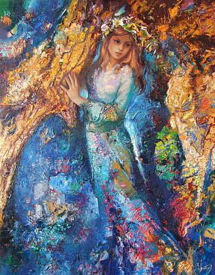 Fairy Forest Art Print by Sergey Ignatenko