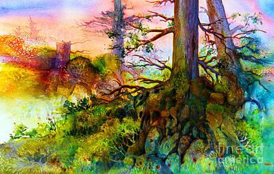 Matanuska Painting - Fairy Forest by Teresa Ascone
