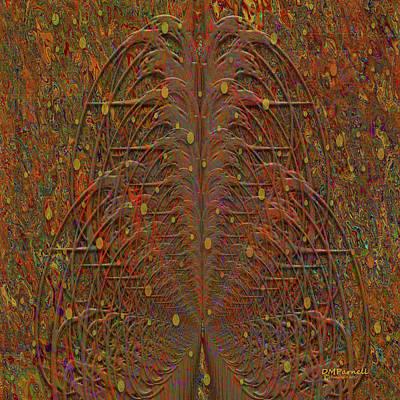 Imp Digital Art - Fairy Fountains by Diane Parnell