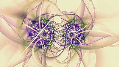 Digital Art - Fairy Fractal-3 by Doug Morgan