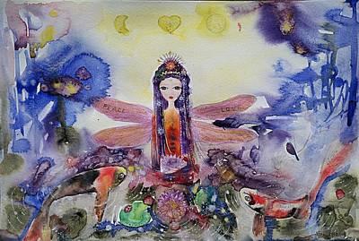 Painting - Fairy Garden  by Nino Gabashvili