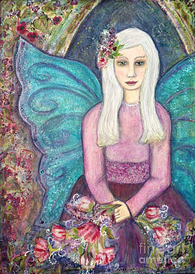 Painting - Fairy Godmother by Misty Frederick-Ritz