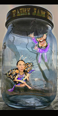 Fairy Jam Art Print