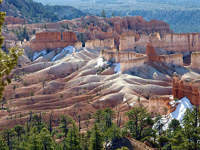 Photograph - Fairy Land Hoodoos by Amelia Racca