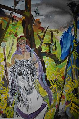 Painting - Fairy Land by Susan Snow Voidets