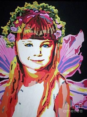 Fairy Lexi Art Print by Jennifer Heath Henry