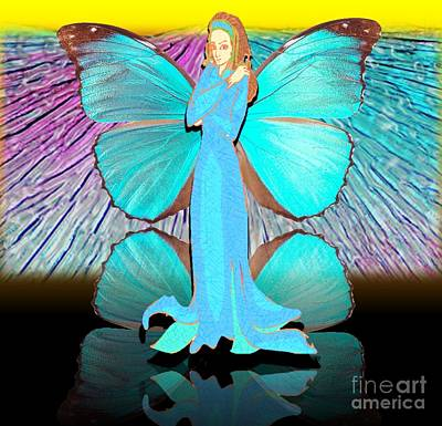 Painting - Fairy Of Dispensation by Belinda Threeths