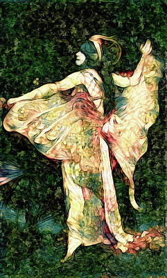 Photograph - Fairy Of The Flowers by Susan Maxwell Schmidt