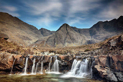 Photograph - Fairy Pools - Isle Of Skye by Grant Glendinning