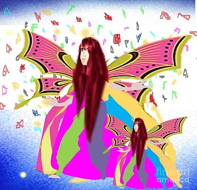 Painting - Fairy Power by Belinda Threeths