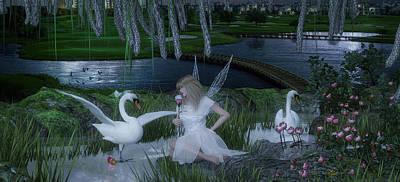 Fairys Digital Art - Fairy Princess by Denice Thomson
