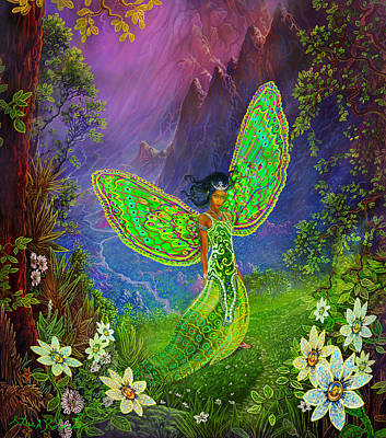 Painting - Fairy Princess by Steve Roberts