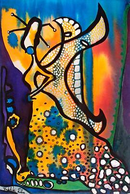 Painting - Fairy Queen - Art By Dora Hathazi Mendes by Dora Hathazi Mendes