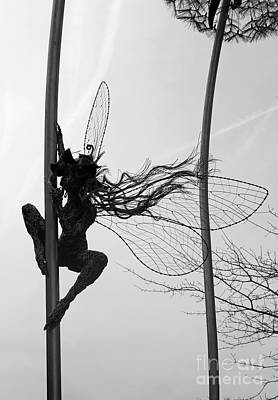 Photograph - Fairy Sculpture by Julia Gavin