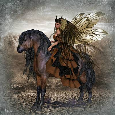Digital Art - Fairy So Divine by Ali Oppy