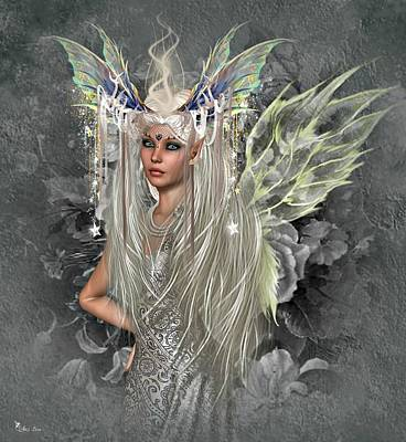 Digital Art - Fairy So Sweet by Ali Oppy