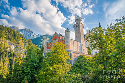 Photograph - Fairytales From Neuschwanstein Castle by JR Photography