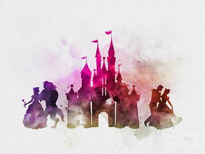 Mixed Media - Fairy Tale Dream by Rebecca Jenkins