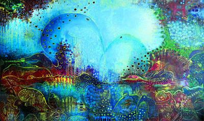 Surrealistic Painting - Fairy Tale by Lolita Bronzini