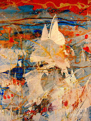 Red White And Blue Mixed Media - Fairy Tales 2 by Nancy Kane Chapman