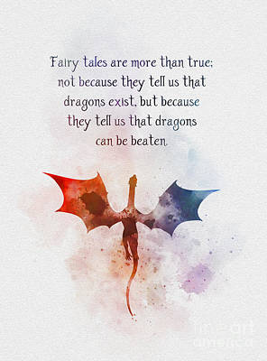 Mixed Media - Fairy Tales Are More Than True by Rebecca Jenkins