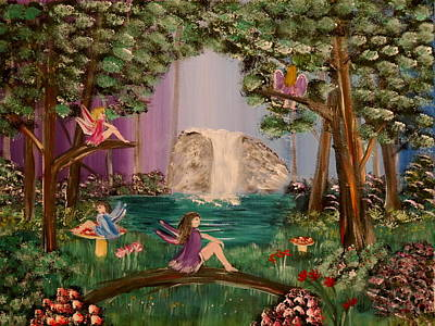 Painting - Fairyland by Bernd Hau