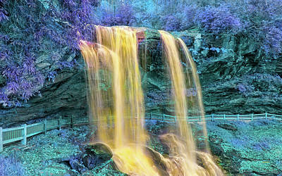 Photograph - Fairyland Falls by John M Bailey