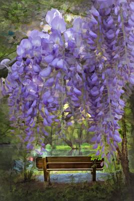 Photograph - Fairyland Garden by Debra and Dave Vanderlaan
