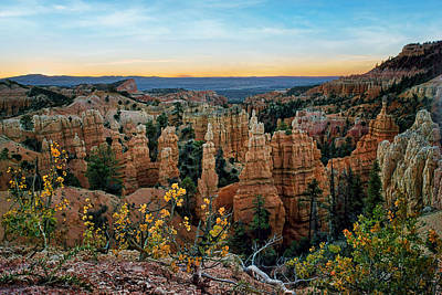 Photograph - Fairyland Morning - Bryce - Utah by Nikolyn McDonald