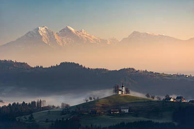 Mountain Range Photograph - Fairytale by Blaz Gvajc