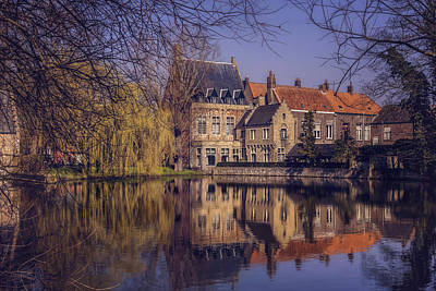 Charming Town Photograph - Fairytale Bruges  by Carol Japp