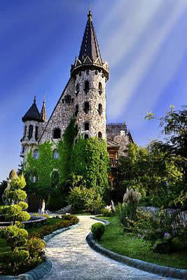 Photograph - Fairytale Castle by Radoslav Nedelchev