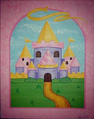 Fairytale Castle Art Print