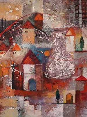 Painting - Fairytale Impression by Lutz Baar