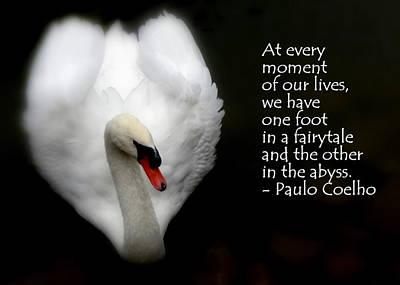 Fairytale Swan Art Print by Lainie Wrightson