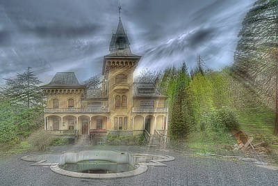 Photograph - Fairytale Villa - Villa Delle Fiabe by Enrico Pelos