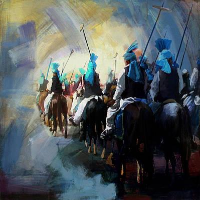 Painting - Faisalabad 3 by Maryam Mughal