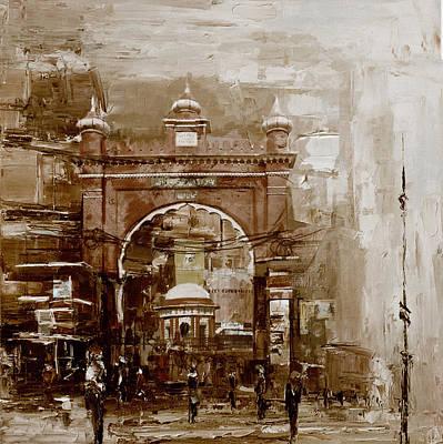 Painting - Faisalabad 4b by Maryam Mughal