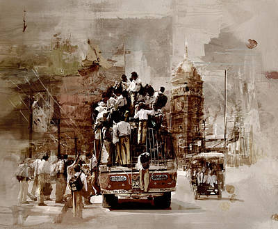 Lahore Painting - Faisalabad 9c by Maryam Mughal