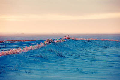 Drifting Snow Photograph - Fait A Peindre by Todd Klassy
