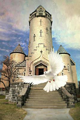 Digital Art - Faith Angel by Diana Angstadt