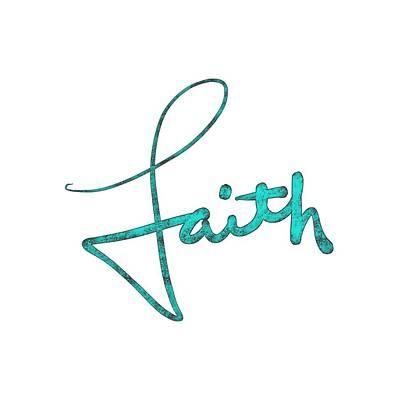 Drawing - Faith by Bill Owen