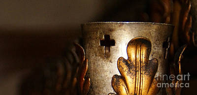 Photograph - Faith Candle by Linda Shafer