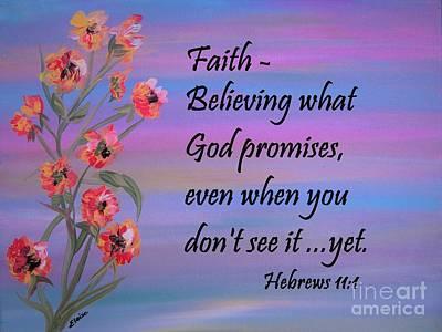 God Painting - Faith by Eloise Schneider