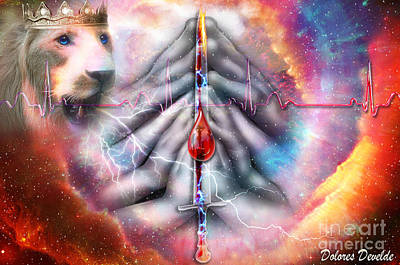 Heart Beat Digital Art - Faith Filled Prayer by Dolores Develde
