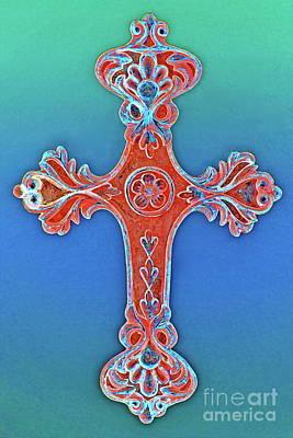 Faith Art Print by Gwyn Newcombe