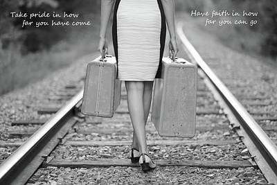 Photograph - Faith In Your Journey by Barbara West