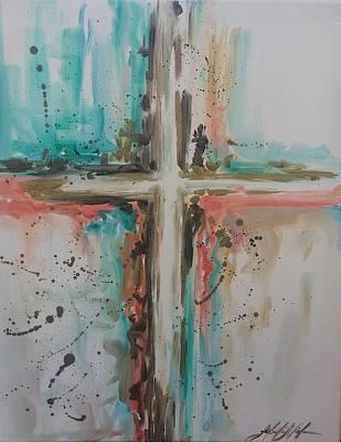 Painting - Faith by Jeleata Nicole
