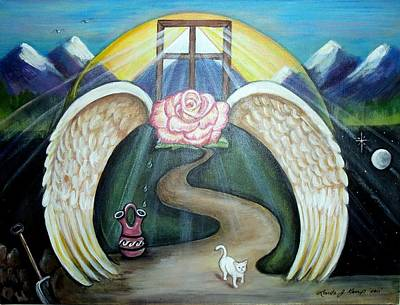 Painting - Faith Journey by Linda Nielsen